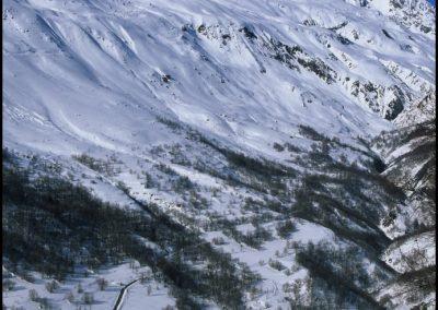 Vallée du Ferrand hiver
